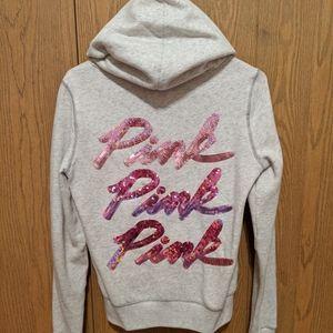 Victoria's Secret PINK Sequin sweatshirt